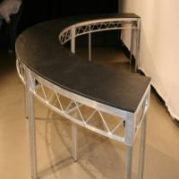 Quality Circle Movable Transparent Stage Platforms / Temporary Stage Platforms for sale