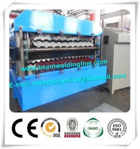 Quality 78m2/H Continuous  PU Sandwich Panel Production Line PLC Control for sale