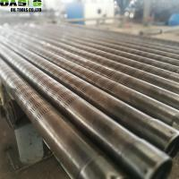 Quality Seamless Slotted Oil Well Screen OD 168mm Low Carbon Steel Material 400 Series for sale