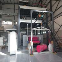 China Simple Operation Non Woven Fabric Making Machine Bags Packing One Times Use on sale