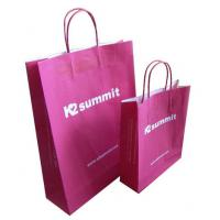 Best Clothing Red Kraft Paper Shopping Bags China Wholesale Price wholesale