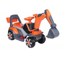 Buy Professional Childrens Electric Ride On Cars / Sit On Excavator Toy EN71 Approved at wholesale prices