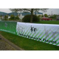 Quality Eco-Solvent Ink Large Mesh Banners, PVC Mesh Banner With Printable Surface for sale