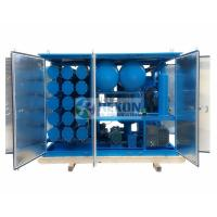 Quality 18000LPH Vacuum Insulation Oil Regeneration Purifier with Silica Gel Material for sale