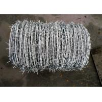 Quality Sharp Electric Barbed Wire Fence / Razor Wire Fence For National Defense for sale