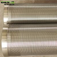 Quality Continuous Slot Wire Wrapped Screen Rod Based For Outdoor Custom Pixels for sale