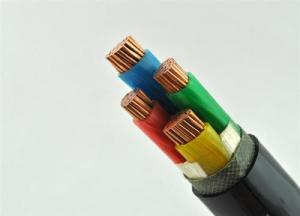 Quality 4 Cores 0.6/1KV Aluminium Conductor Pvc Insulated Industrial Cables for sale