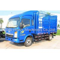 China 12T HOWO Light Duty Commercial Trucks , 4X2 Stake Truck 120hp ,The Best Helper on sale