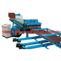 China Aluminium Steptile Roofing Sheets Corrugating Machine on sale
