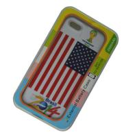 China Mobile Phone Accessories Power Bank Protecive Case for iPhone 5S United States National Flag Back cover on sale