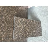 Quality On Sale Counterop Tile Slab Cheap China Dyed Brown Granite Slabs&Tile for sale