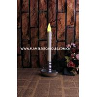 Best Christmas Flameless Window Candles With Timer , LED Ivory Dripping Battery Operated Window Candles wholesale