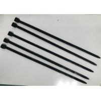 Quality Black Nylon Cable Ties 150mm Length For Big Size Wire Harness Cable for sale