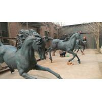 Quality New Bronze horse sculptures ,outdoor brass horse statues for sculptor and artist, China sculpture supplier for sale