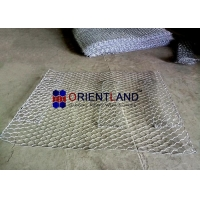 Quality ASTM A975-97 Galfan Woven Mesh Gabion Wire Baskets for sale