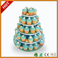 Best Advertising wedding cake stand / 3 Tier Art Paper paper corrugated wholesale