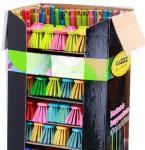 Broom Advertising Cardboard shelf display boxes with Handle Set