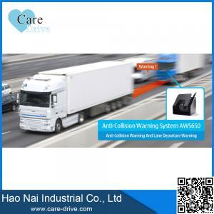 China CareDrive 12 24 DCV car alarm system AWS650 anti collision warning on sale