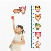 Quality Non-Toxic Kids Height  Stickers  Home Decoration Childrens Wall Stickers DLX605 for sale