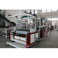 China SLW - 1000mm Three Layers Stretch Film Machine HDPE / LDPE Material on sale