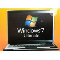 Quality 32/64 Bit Windows 7 Ultimate Retail Box Home Premium SP1 With Lifetime Warranty for sale