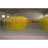 Quality Crowd Control Barrier  Galvanised Crowd Control Barrier for sale
