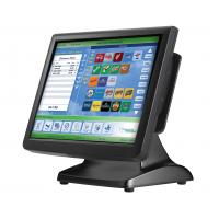"Best 15"" two touch screen  Android Retail POS Systems terminal black waterproof wholesale"