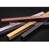 Quality U Shaped Stainless Steel Decorative Trim Listello Trim Profiles For Wall for sale