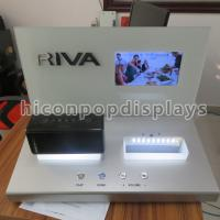 Cheap Mini Speaker Counter Display Units With Point Of Sale LCD Screen for sale