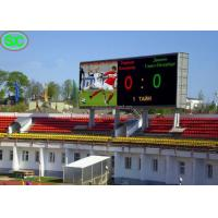China Soccer Scoreboard Stadium LED Display P6 Outdoor with Nationstar LED on sale