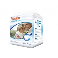 Quality Comfortable Quick Dry Medium Size Adults Diapers for sale
