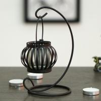 China Metal Hanging love lantern candle holders /candle holders in Lantern on sale