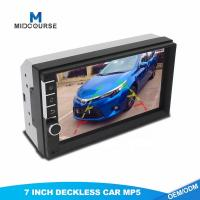 Quality Universal 2 Din 7inch HD Touch Screen Car MP5 video Player With Bluetooth Phone Radio Stereo FM/ USB/Backup Camera for sale