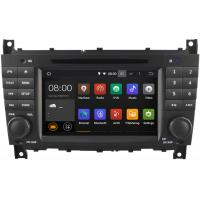 Quality Quad Core Mercedes Benz Radio GPS W203 DVD Player , Mercedes C Class Navigation System for sale