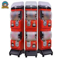 Quality Spiral Shopping Mall Gumball Vending Machine Coin And Token Operated for sale
