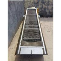 Quality Multi Rake Wastewater Bar Screen Mechanical Type Remove Large Solid Reject for sale