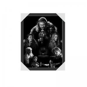 Quality 0.6mm PET Regular Size Movie Super Star Lenticular Poster 3D Lenticular Movie Posters for sale