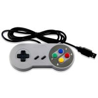 Quality USB Wired NES Classic Game Controller White Color ABS Material Long Cable for sale