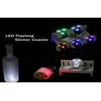 Best Promotion Bar Ware Blinking Light Up Products Plastic Bottle Led Light Coasters wholesale