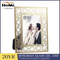 Quality Vintage Attractive Brass And Glass Picture Frame Customer'S Logo Acceptable for sale