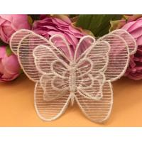 Garment Accessories  Butterfly Embroidery Applique with Different Color