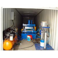 Quality Small Standing Seam Roll Forming Machine , Metal Roofing Machine 20ft Container Loading for sale