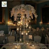 Best UVG event party supplier 5ft wedding decoration table centerpiece in artificial orchids wholesale