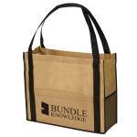 Quality Customized Reusable Non Woven Handbag Laminated Bags Good Breathability for sale