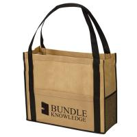 Quality Customized Reusable Non Woven Handbag Pp Laminated Bags Good Breathability for sale