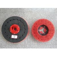 """Quality Rotary Floor Cleaning Machine Brushes , 19""""  Size Disc Diamond Abrasive Brush for sale"""