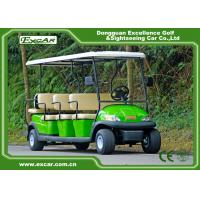Quality Tourist Electric Sightseeing Car , 3.7kw 48v Trojan Battery Operated Golf Cart for sale