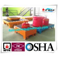 Best Steel Spill Containment Pallets , Oil Drum Spill Pallet For IBC Drum wholesale