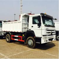 Quality 290HP Sinotruk Howo 4x2 10 Ton Small Tipper Truck With Powerful Steering Gear Box for sale