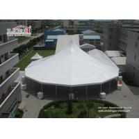 China Heavy Duty White High Peak Tents / Marquees , Clear Span Tents Structure For Event on sale